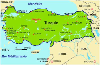 Turquía: asonada militar y geografía electoral