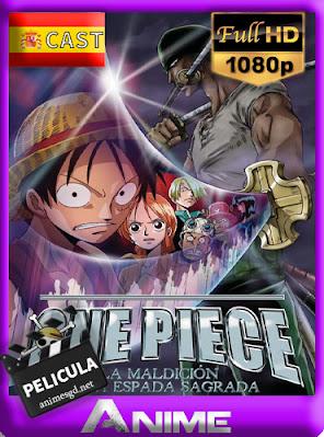 One Piece: La Maldición de la Espada Sagrada (2004) [Castellano] [1080p] [GoogleDrive] AioriaHD