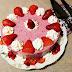 Tarta de fresas sin horno súper fácil