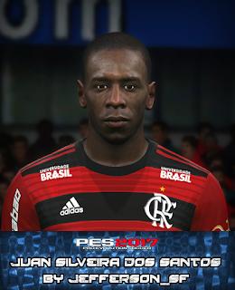 PES 2017 Faces Juan Silveira dos Santos by FaceEditor Jefferson_SF