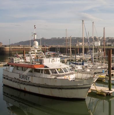 Photo of a survey vessel that would make a great liveaboard