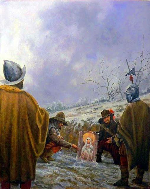 O milagre de Empell, miraculoso achado de imagem da Imaculada Conceição