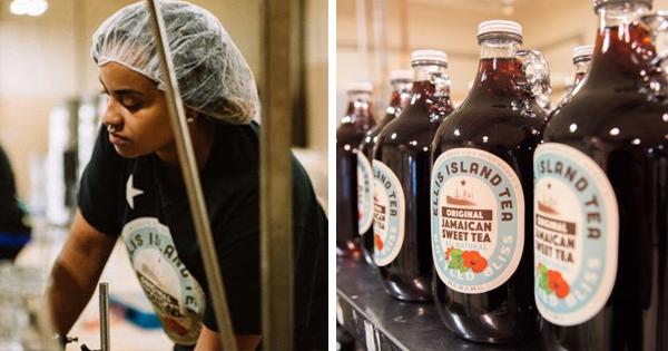 Nailah Ellis-Brown, founder of Ellis Island Sweet Tea