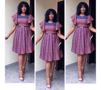 Classical Ankara Short Gown Styles 2018 For African Queen #3