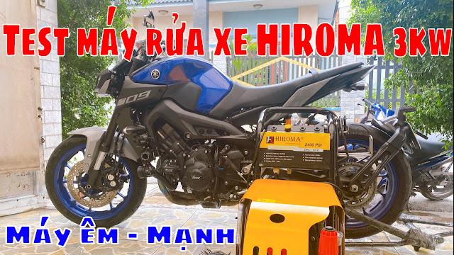 Máy rửa xe chính hãng HIROMA Công suất 3kw Model DHL - 131 1