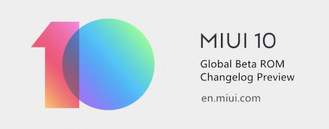 MIUI 10 Stabil Version