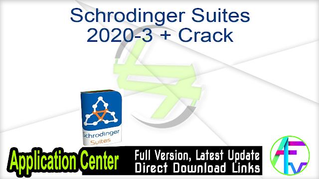 Schrodinger Suites 2020-3 + Crack