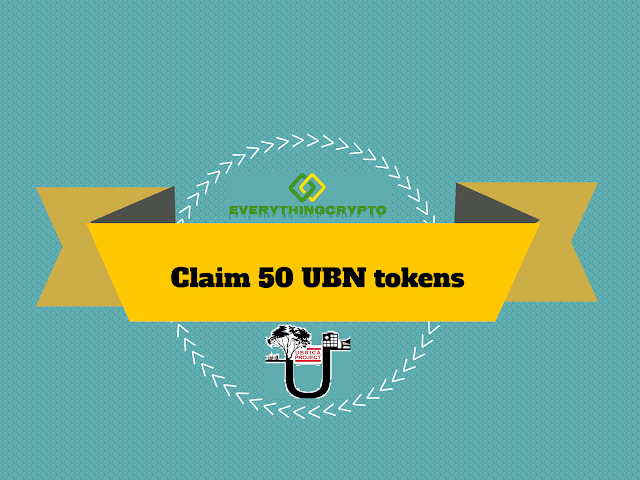 Claim 50 UBN tokens (25$)