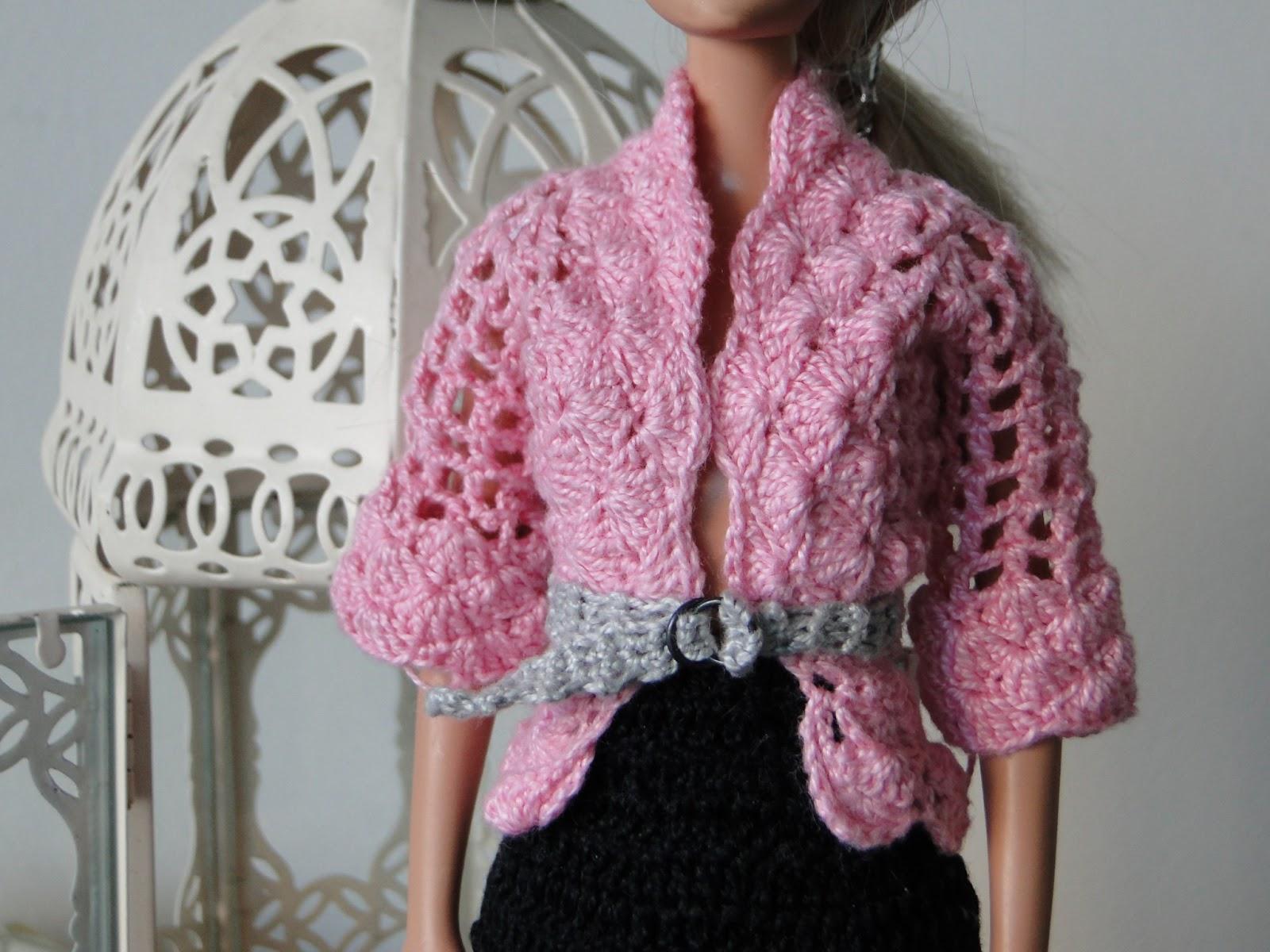 Roupa de Crochê Para Barbie Por Pecunia MillioM 5