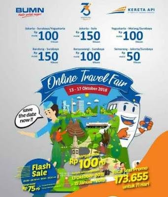 Promo Tiket Kereta Api Online Travel Fair