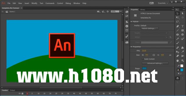 Phần mềm hoạt hình chỉnh sửa kỹ xảo, hiệu ứng 2D, 3D chuyên nghiệp.