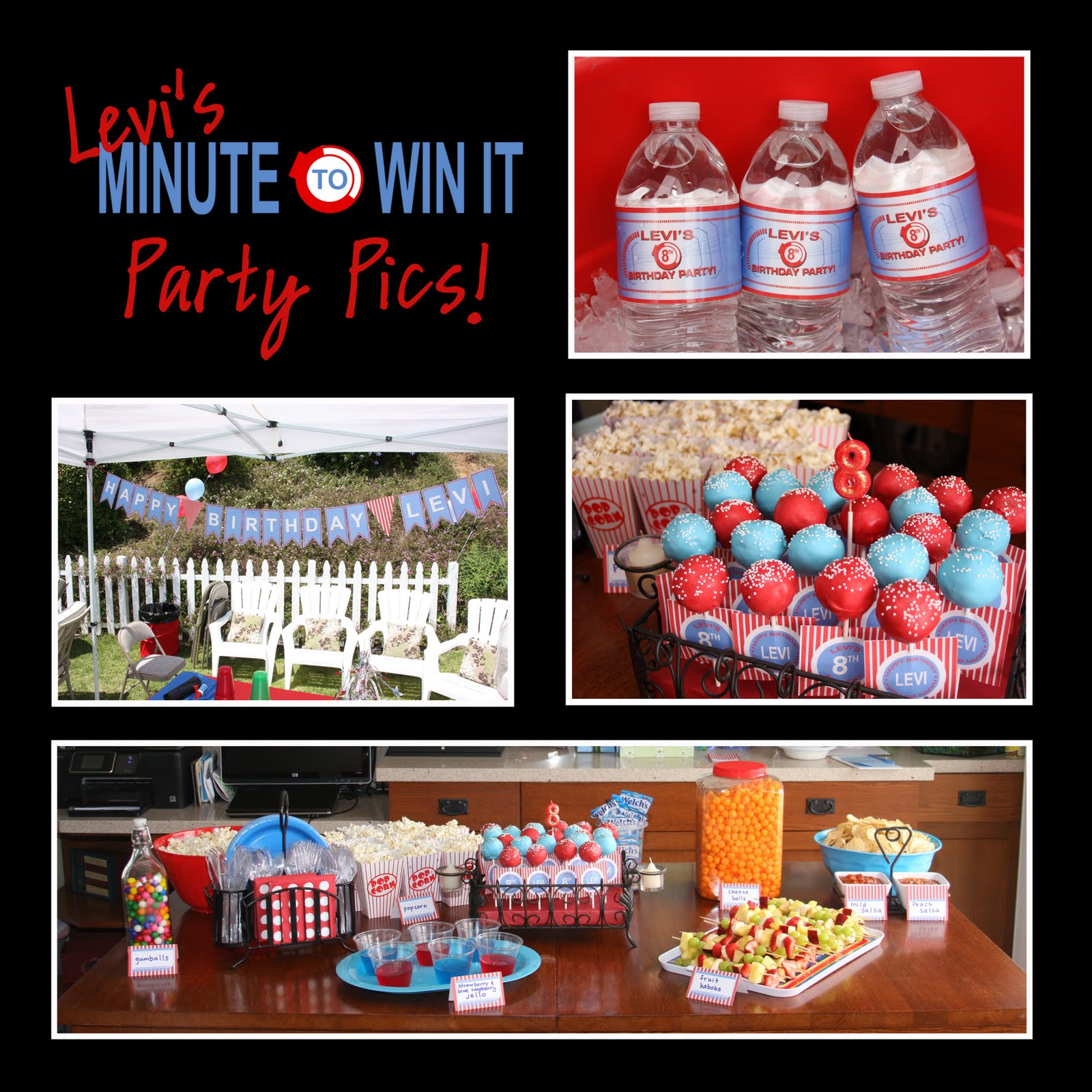 Paper Perfection: More Minute To Win It Party Pictures
