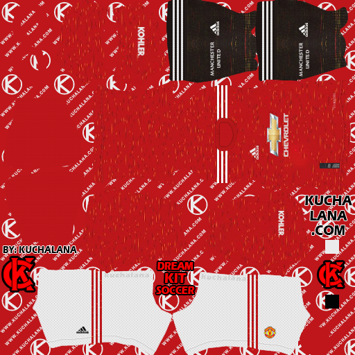 Manchester United 2020-21 Kit - DLS20 Kits