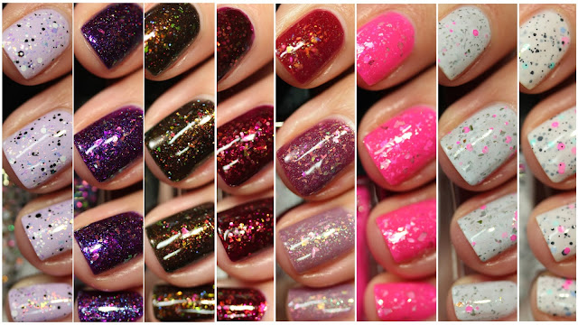Celanaste nail polish review swatches