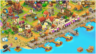 Download Town Village Apk Mod Money Terbaru