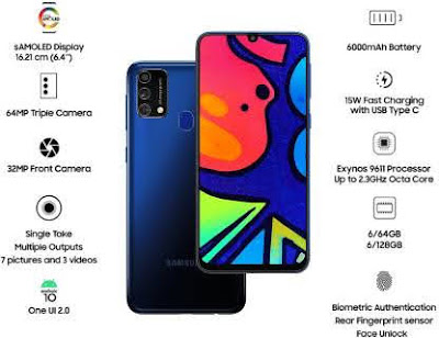 Samsung Galaxy F41 features