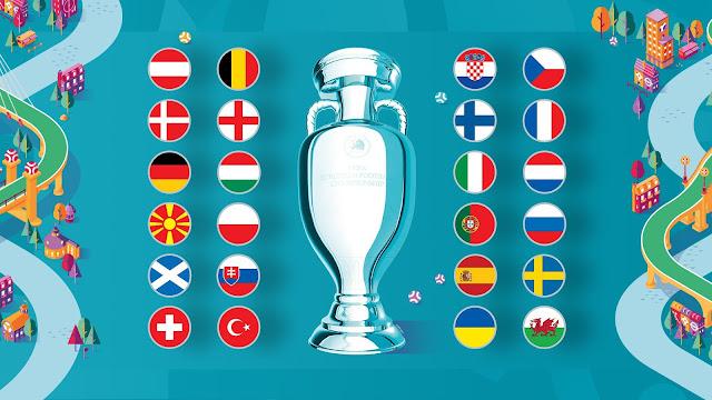 Jadual Perlawanan EURO 2020 Bagi Saluran Astro Dan RTM