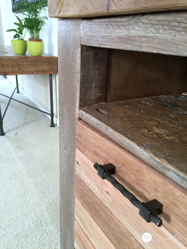 Reclaimed Wood Media Console, MyLove2Create