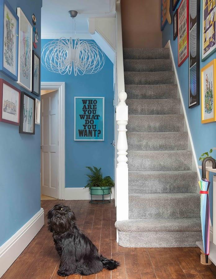 un hogar colorido