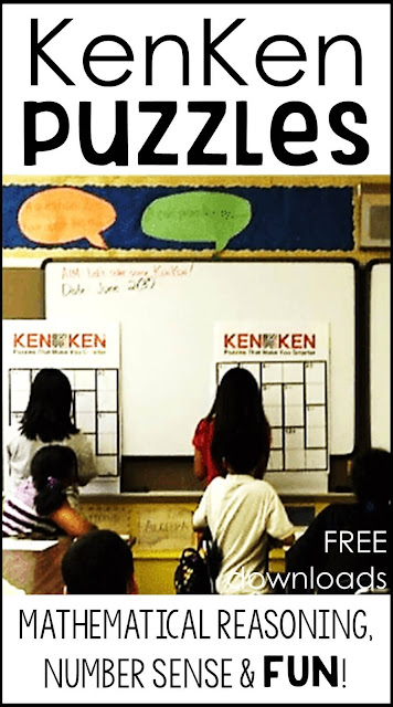 KenKen Puzzles - mathematical reasoning, number sense and FUN!
