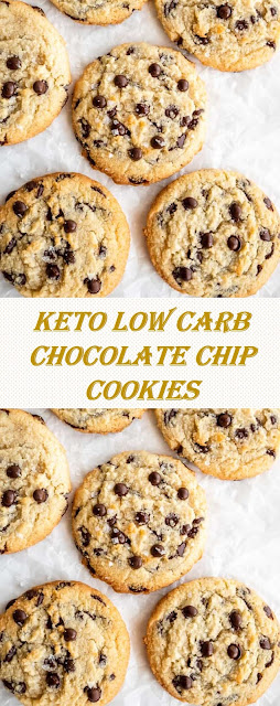 KETO LOW CARB CHOCOLATE CHIP COOKIES
