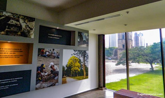 Museu da Plaza Mayor de Panamá Viejo