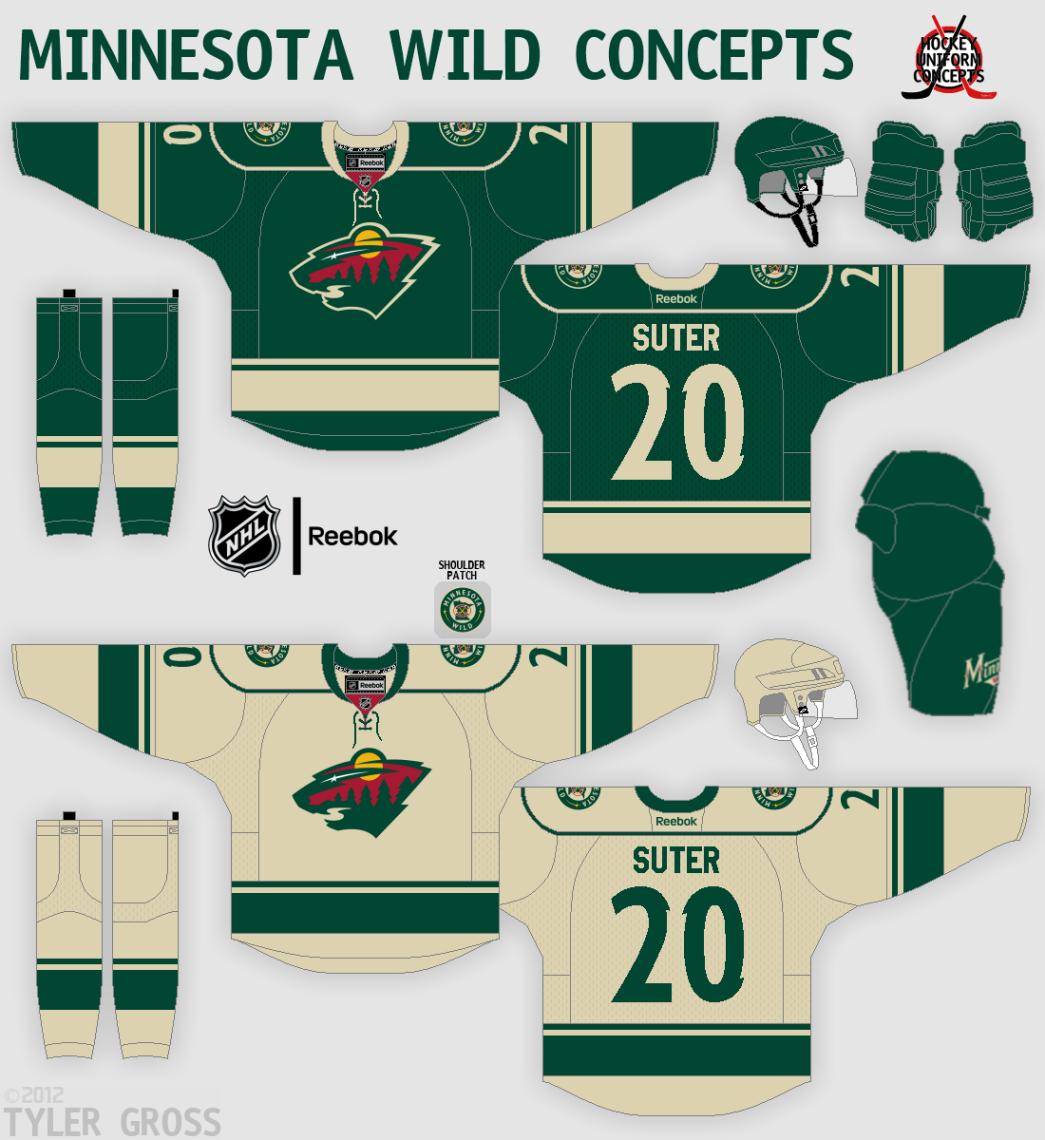 Minnesota Wild Concept - Concepts - Chris Creamer s Sports Logos ... 6b9395150