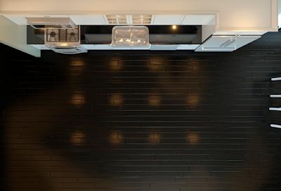 layout interior kitchen