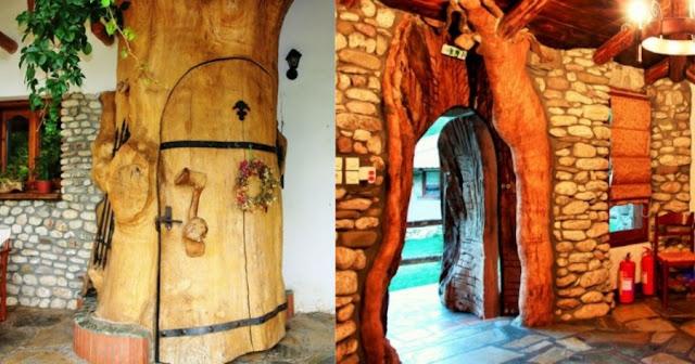 42χρονος Έλληνας έχτισε το «χωριό των Φλίνστοουνς» στην Καρδίτσα και οι τουρίστες κάνουν ουρές