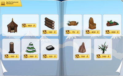 Club Penguin Furniture & Igloo Catalog Cheats April 2016