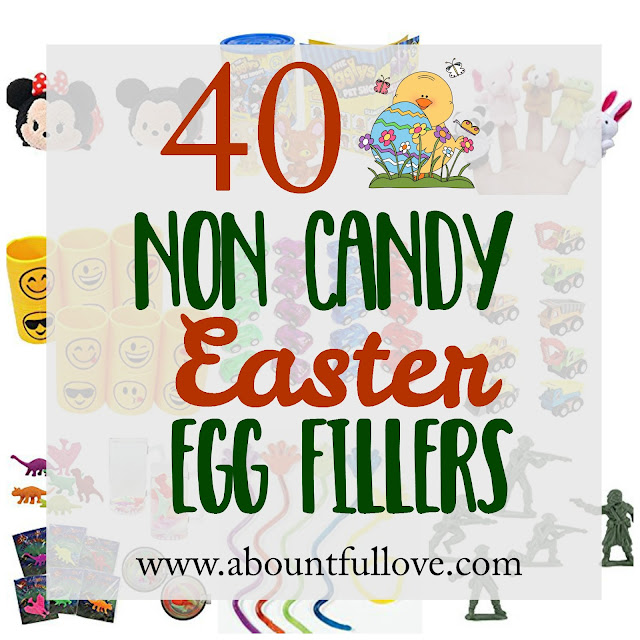 40 Non Candy Easter Egg Fillers