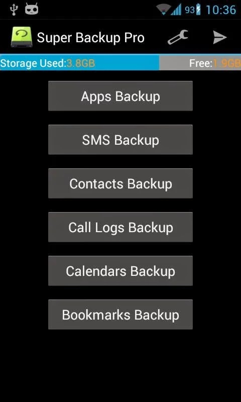 Super Backup Pro: SMS&Contacts v2.1.11