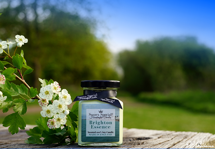Brighton Essence Scented Soy Candle