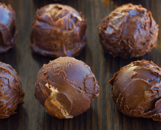 Keto Brownie Bombs #keto #brownie #healthy #recipes #paleo