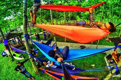 Wisata Hammock Bukit Dhoho Indah Kediri