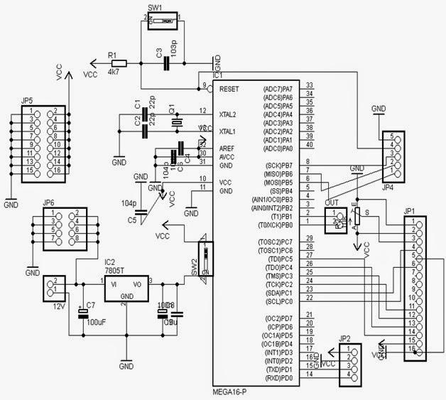 .: Membuat Alat Pengendali Led dengan Handphone J2ME