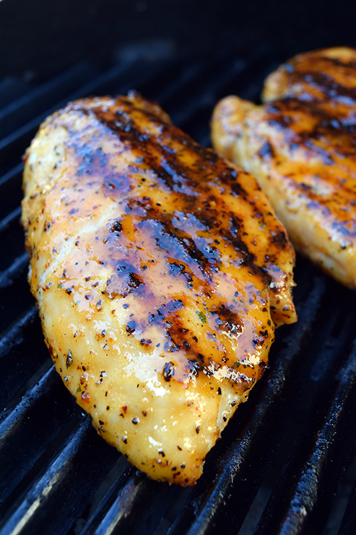 juicy grilled chicken tips