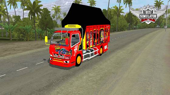 mod truk canter mbois
