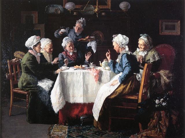 L. Moeller - A Tea Party