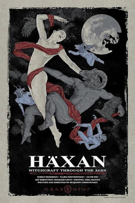 Haxan: Witchcraft Through The Ages Variant Screen Print by Timothy Pittides & Grey Matter Art