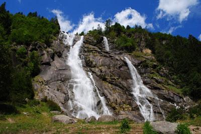 Vacanze in Trentino alto Adige : Cascate e, luoghi belli da vedere