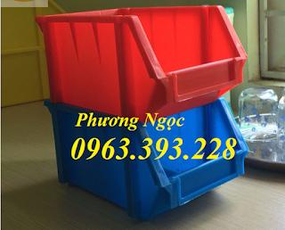 Kệ dụng cụ A6, khay linh kiện xếp chồng, hộp nhựa đựng ốc vít 504c86ecce0a2c54751b