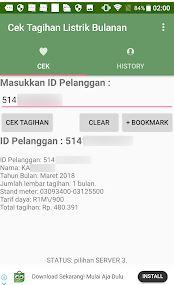 Cara Mudah Cek Tagihan Listrik Lewat Android dan Sms