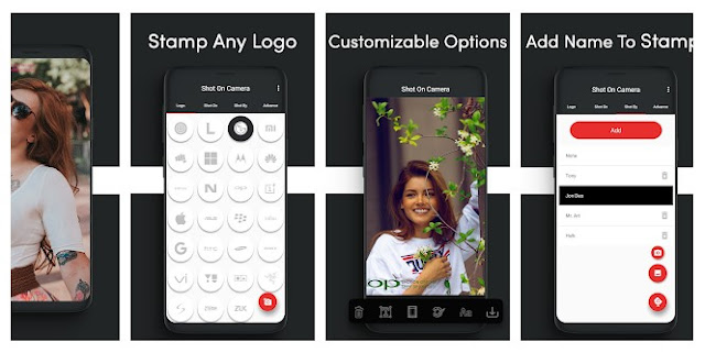 Aplikasi Cara Menambahkan Watermark pada Gambar Android - Watermark Apps Android ShotOn Camera