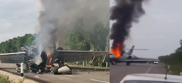 VIDEO.- En Helicóptero Militar fue atacado a tiros y éste respondió cuando entraron y violaron espacio y soberanía mexicana  así fue como FAM derribo narco-avion procedente de Venezuela