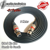 Kabel Mic XLR 5 meter Female To Female canon canare