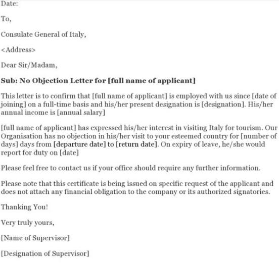 Visa Application Guide For Letter Of