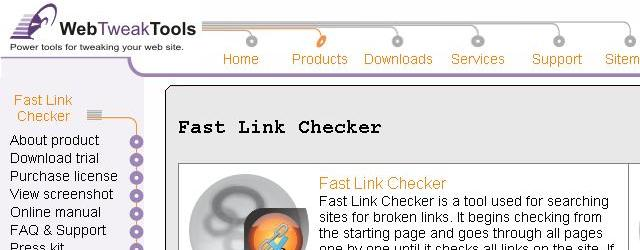 Fast Link Checker