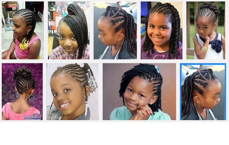 Surprising New African American Kids Hairstyles Short Hairstyles For Black Women Fulllsitofus