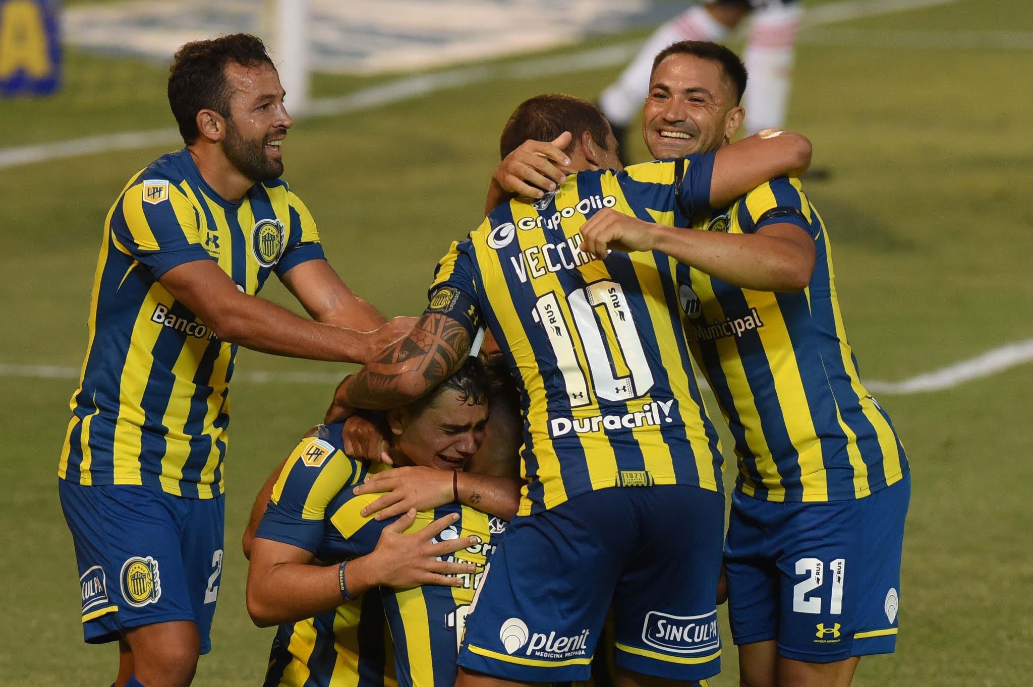 Rosario Central debutó con un triunfo ante Argentinos Juniors
